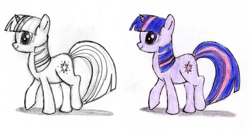 Twilight that I have drawn