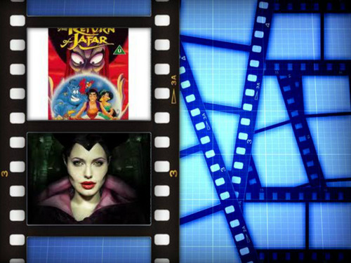 Two disney Villains cine