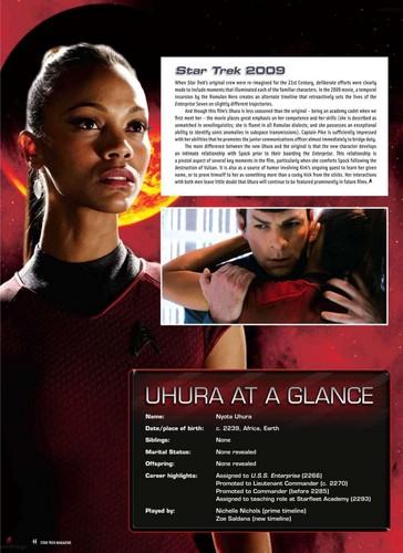 Uhura - Trek Magazine