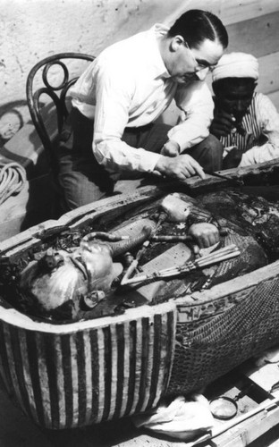 Uncovering King Tut's Mummy