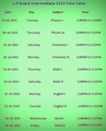 Up Board Intermediate Time Table 2013 - google photo