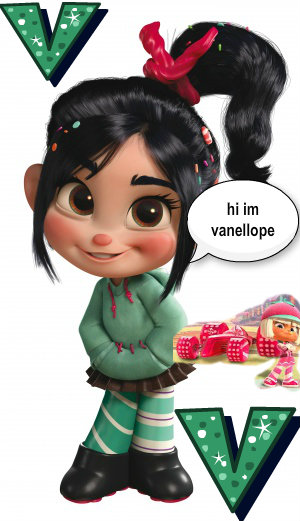 V for Vanellope