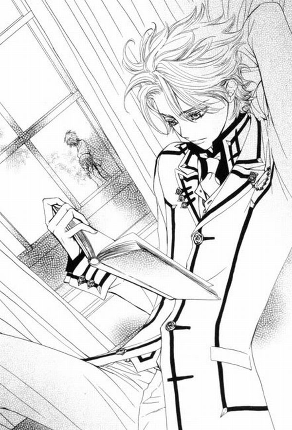 Vampire Knight Anime Coloring Pages