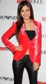 Victoria Justice Shows off her Belly Button at the Teen Vouge Hollywood Party