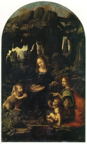 Virgin of the Rocks by Leonardo Da Vinci, 1483–c. 1490