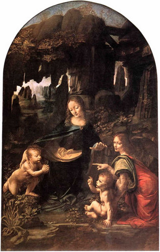 Virgin of the Rocks- demonstrates Leonardo's interest in nature.
