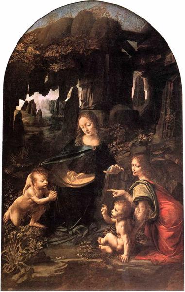 Virgin of the Rocks- demonstrates Leonardo's interest in nature.