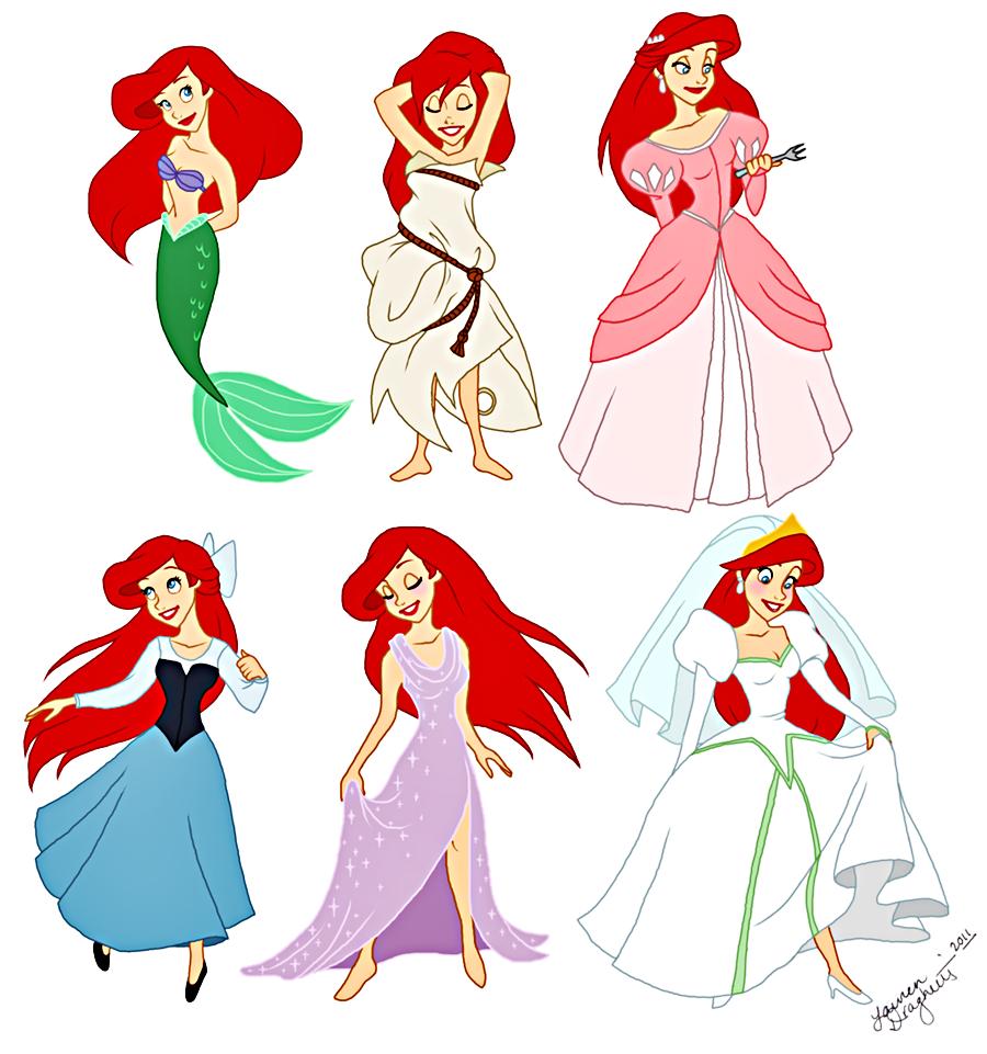 Walt disney characters walt disney fan art princess ariel