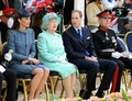 Will and Kate rejoindre the Queen in Nottingham