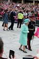 Will and Kate jiunge the Queen in Nottingham