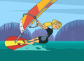 Windsurfer - total-drama-island fan art