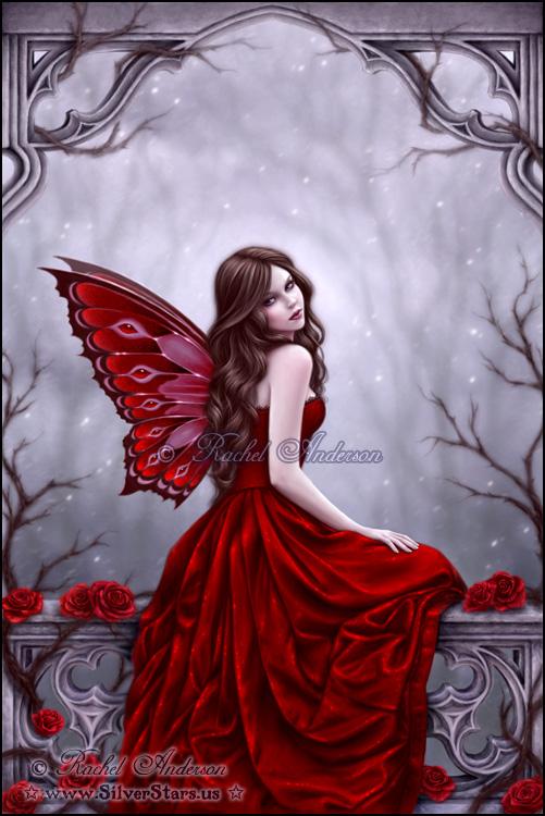 rachel anderson fairy fantasy images winter rose hd. Black Bedroom Furniture Sets. Home Design Ideas