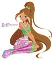 Winx Club 5 season Flora\ 5   - the-winx-club photo