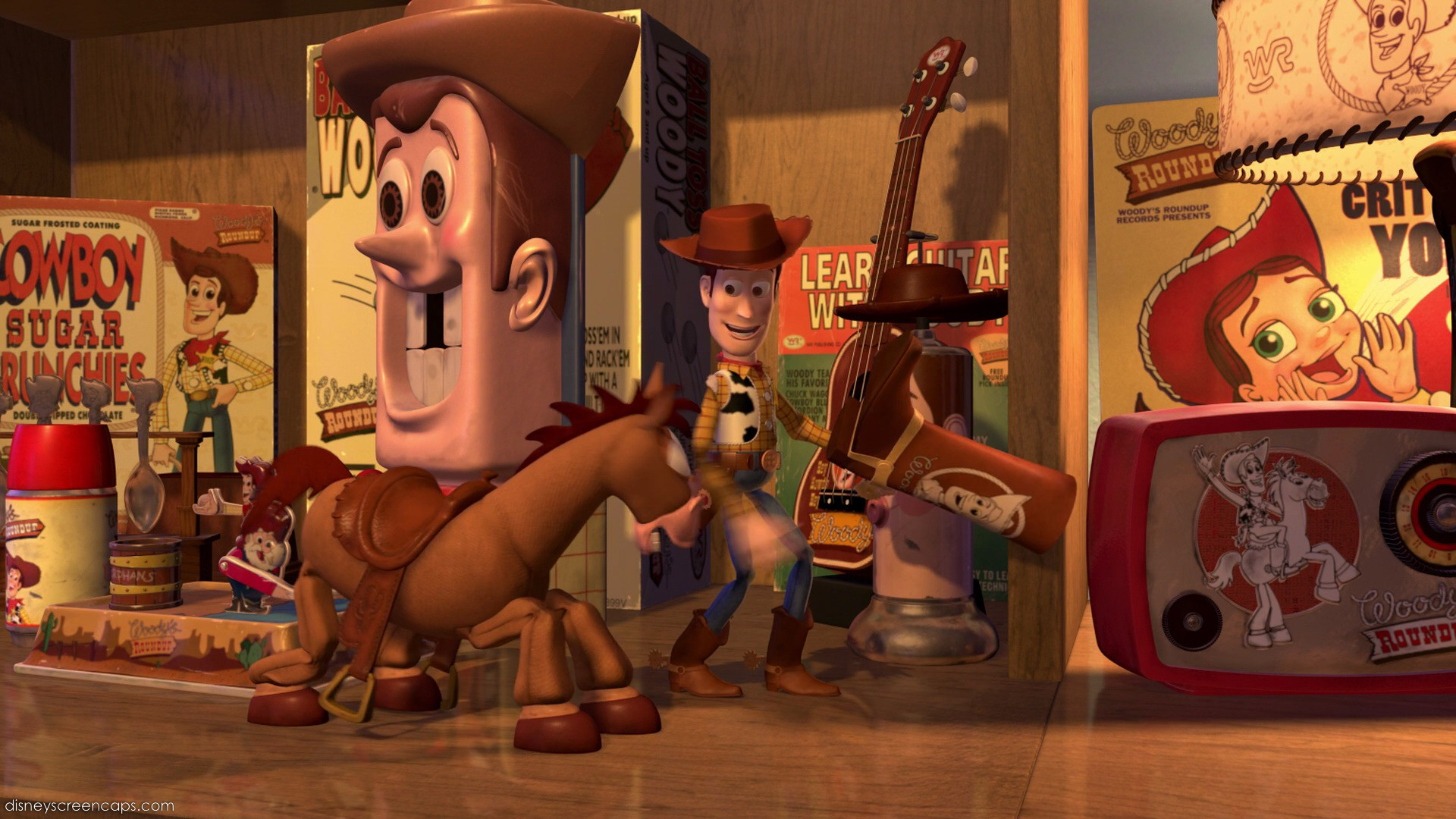 Woody Collection Items