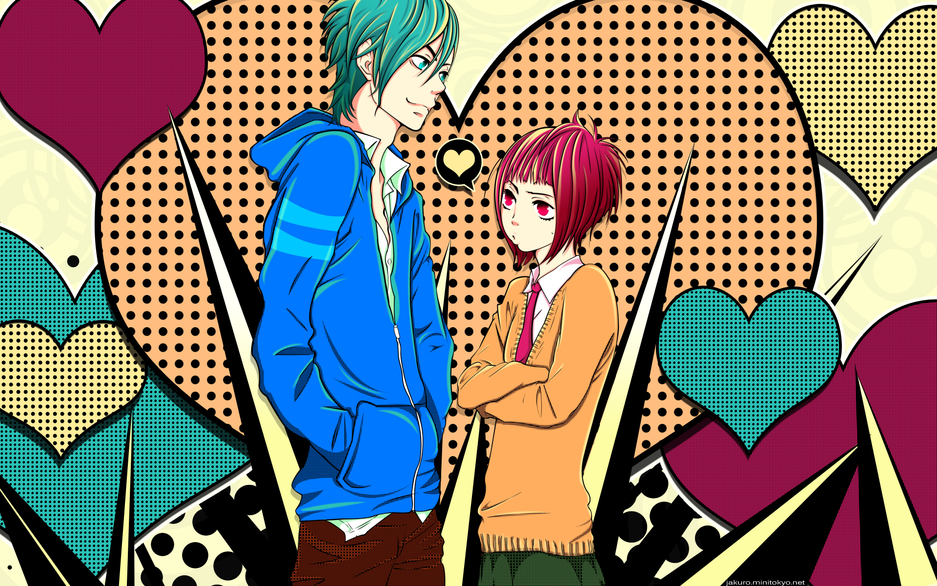 Say I love you images Yamato and Mei HD wallpaper and ...
