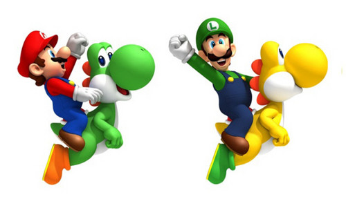 super mario bros wallpaper titled Yoshi Super Mario