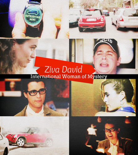 Ziva David is the International Woman of Mystery