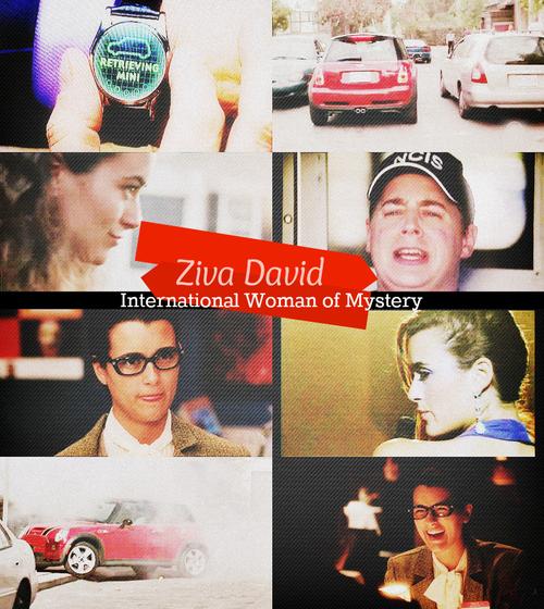 Ziva David is the International Woman of Mystery