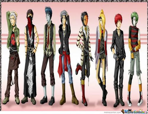 暁(NARUTO) cool gang