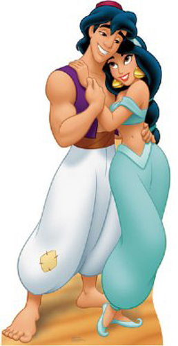 Aladdin and Jasmine wallpaper called aladdin and jasmine