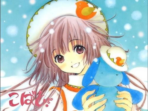জীবন্ত winter girl