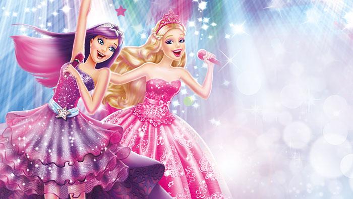 Barbie and pop étoile, star