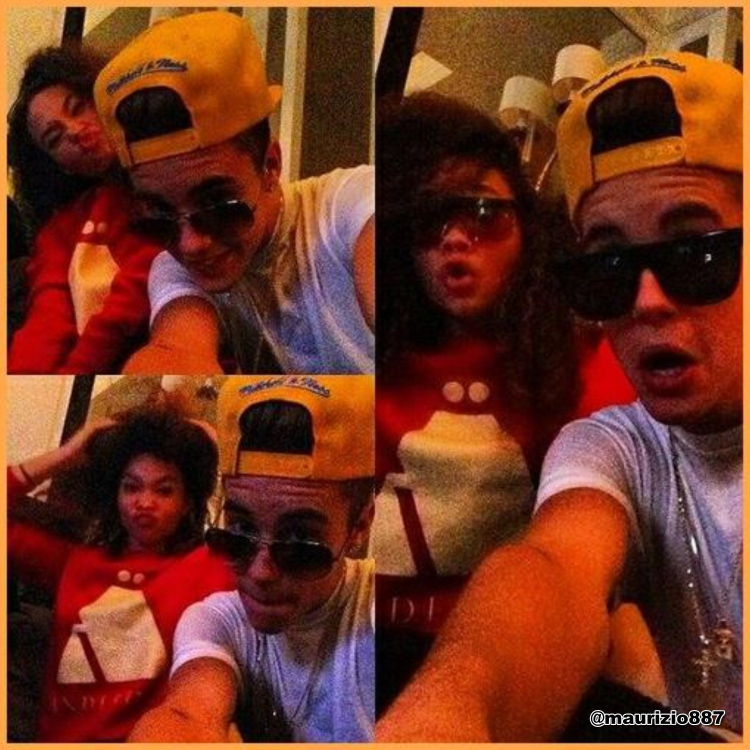 Justin Bieber bieber & Ashley Moore, 2013