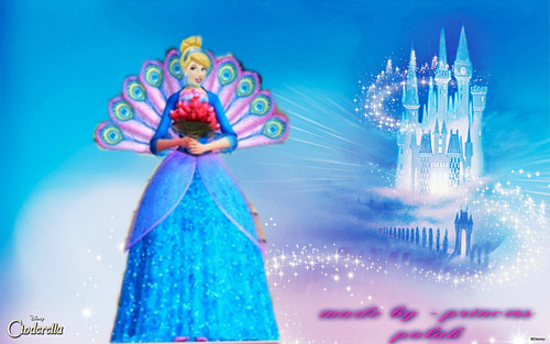 cinderella dressed as rosella