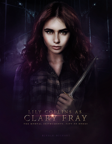 city of bones characters - mortal-instruments Fan Art