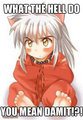 confused inuyasha! - inuyasha-sit-boy fan art