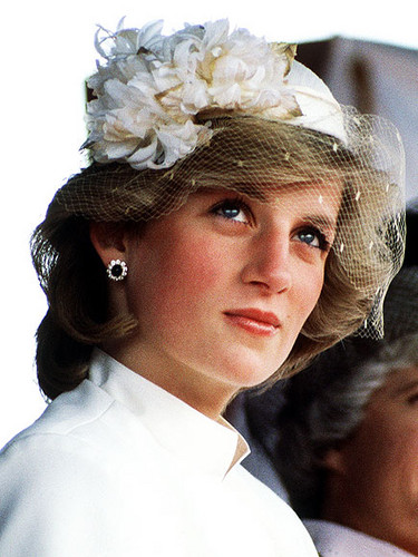 Prinzessin Diana Hintergrund probably with a bouquet called diana