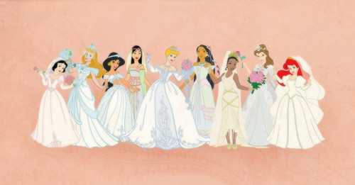 disney wedding dresses - disney-princess Photo