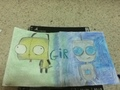 drawings of Gir - invader-zim fan art