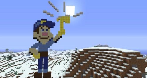 felix in Minecraft