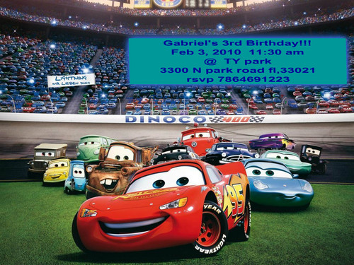 Disney Pixar Cars achtergrond probably with a stock car and an auto racing entitled gabby