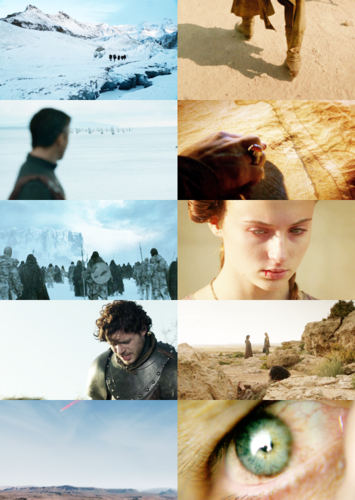 Game Of Thrones + Looking down/Faceless
