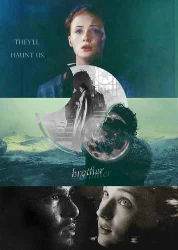 Sansa Stark & Jon Snow