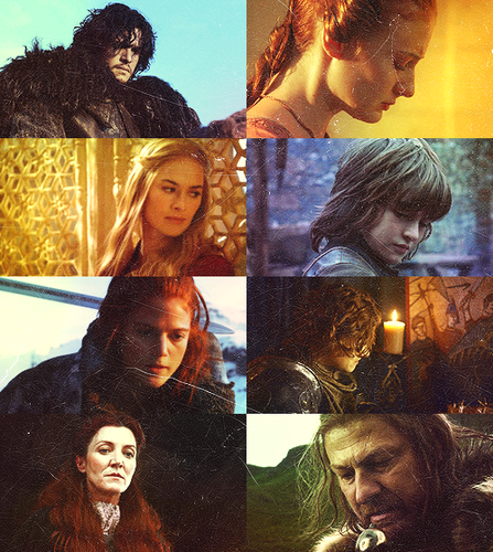 Game of Thrones + Looking down