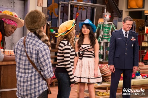 iCarly wallpaper with a boater, a fedora, and a dress hat titled iGoodbye
