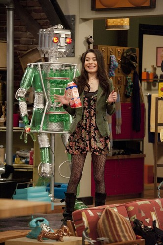 iCarly वॉलपेपर possibly with a leotard, tights, and a playsuit, नाटककार called iGot A Hot room