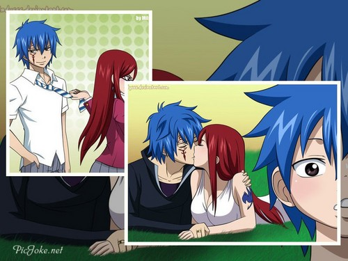 fairy tail fondo de pantalla with anime called jerza