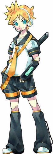 Vocaloids wallpaper possibly with a surcoat entitled len kagamine