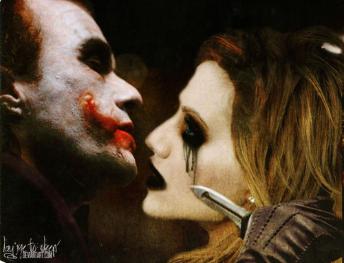 Liebe joker and harley