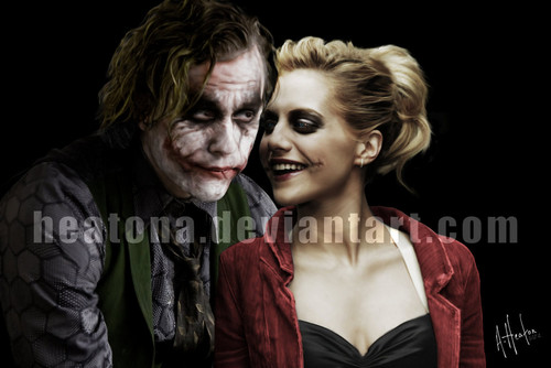 Любовь joker and harley
