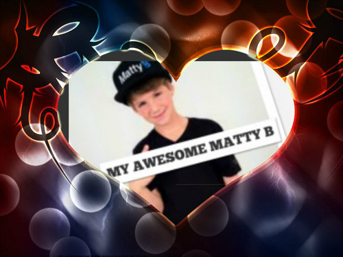 Matty B Raps achtergrond called matty b