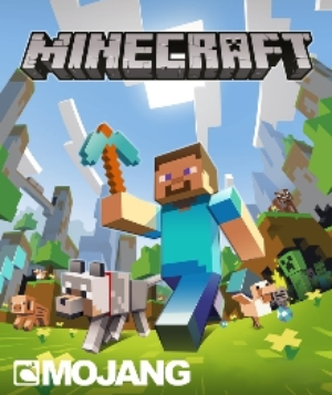 Minecraft wallpaper called minecraft run steve run