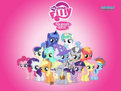 my little pony friendship is magic wallpaper entitled mlp