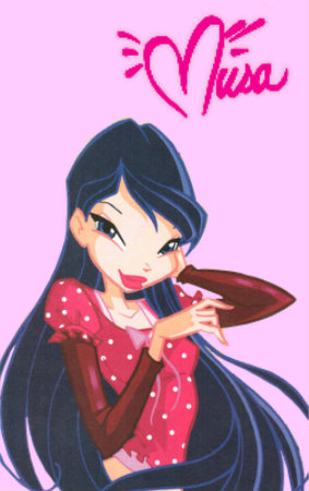 Musa from WINX wallpaper possibly containing Anime called musa i s podpisem