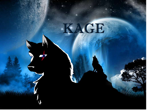 my oc character kage