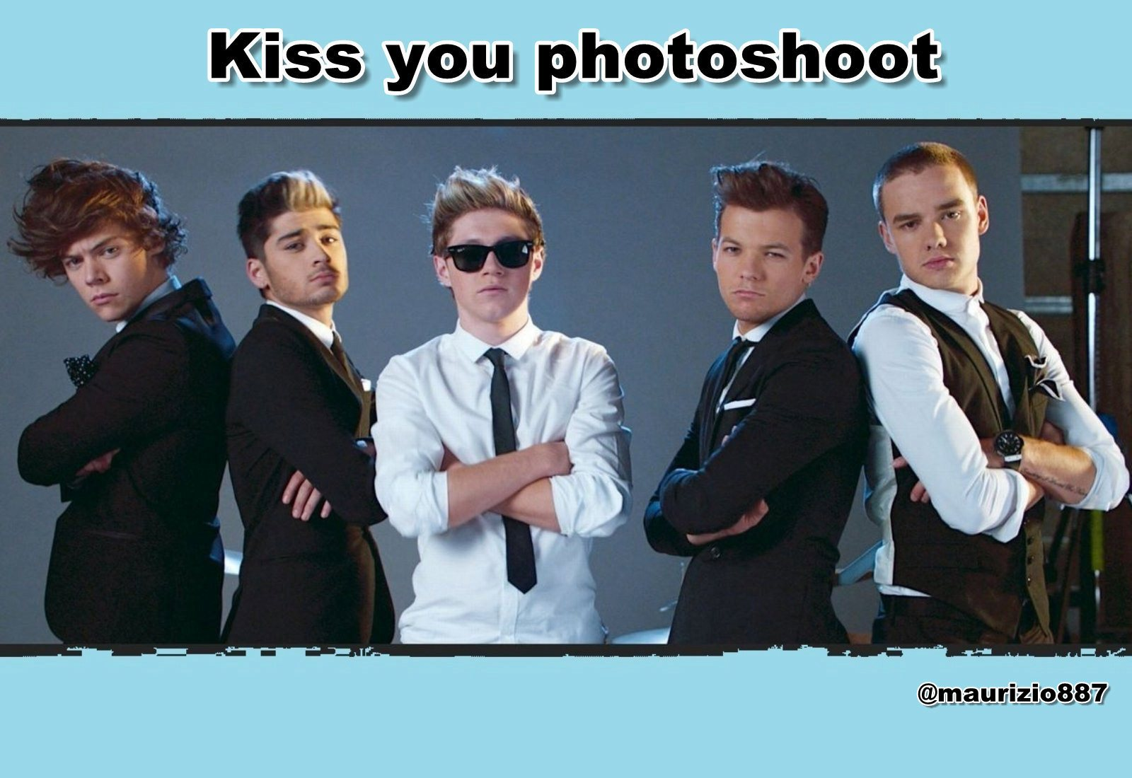 One Direction one direction,Kiss you photoshoot